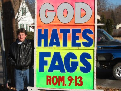 god hates people?